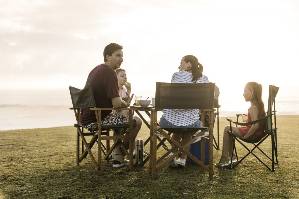Family Caravan and Camping