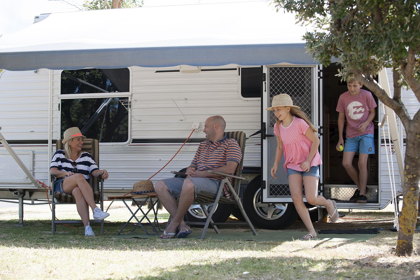 Domestic Australian Caravan and Campers