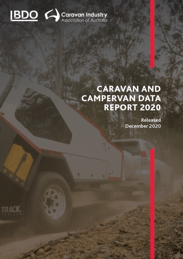 Caravan and Campervan Registration Report Cover 2020